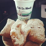 Photo taken at Café Du Monde by C.C. C. on 4/2/2012