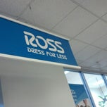 Photo taken at Ross Dress For Less by Walter N. on 8/26/2012