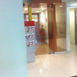 Photo taken at Banco Santander by Ana Lydia S. on 8/14/2012