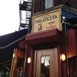 Photo taken at Malatesta Trattoria by Lee H. on 6/6/2012