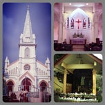 Photo taken at Church of St Anthony by Christian on 7/1/2012