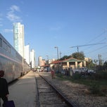 Photo taken at Austin Train Station - Amtrak (AUS) by Sheri N. on 8/25/2012
