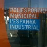 Photo taken at Centre Esportiu Municipal Espanya Industrial by Pako B. on 3/5/2012