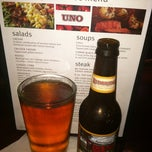 Photo taken at Uno Chicago Grill by Denise F. on 5/9/2012