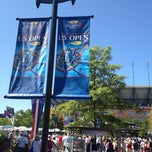 Photo taken at 2013 US Open Tennis Championships by chad b. on 8/30/2012