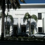 Photo taken at TOM FORD INTERNATIONAL - BEVERLY HILLS by Megan T. on 3/12/2012