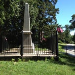 Photo taken at J.E.B. Stuart Monument & Mortal Wounding Site by Michael H. on 6/26/2012