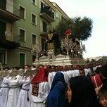 Photo taken at San Miguel by Desi G. on 4/1/2012