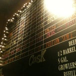 Photo taken at Rock Bottom Brewery by Jeff M. on 2/20/2012