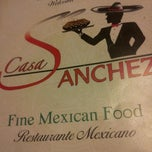 Photo taken at Casa Sanchez Mexican Food by Wayne S. on 8/16/2012