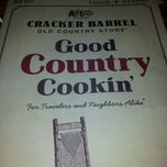 Photo taken at Cracker Barrel Old Country Store by Chuck E. on 4/14/2012