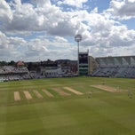 Photo taken at Trent Bridge Cricket Ground by Jon M. on 7/28/2012