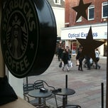 Photo taken at Starbucks by Pinar B. on 2/20/2012