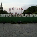 Photo taken at Universitas Gadjah Mada (UGM) by Hanny N. on 8/30/2012