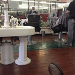 Photo taken at Dentes Barber Shop by Michael P. on 3/13/2012