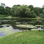 Photo taken at Central Park - Harlem Meer by John P. on 6/4/2012