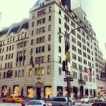 Photo taken at Bergdorf Goodman by Bergdorf Goodman on 5/31/2012