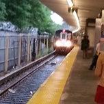 Photo taken at MTA Subway - Middle Village/Metropolitan Ave (M) by John G. on 7/20/2012