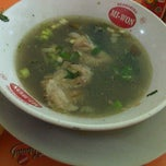 Photo taken at Warung Sop Jando MM2100 by Evatrine H. on 6/21/2012