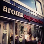 Photo taken at Aroma Espresso Bar by Nicholas F. on 6/26/2012