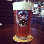 Photo taken at Heavy Seas Alehouse by Michael M. on 3/23/2012