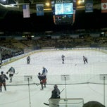 Photo taken at Worcester Sharks by Lee W. on 4/1/2012