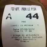 Photo taken at ACI Pisa by Nicola C. on 6/27/2012