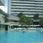 Photo taken at Mar Hotel Recife by Roberto D. on 5/28/2012
