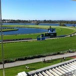 Photo taken at Belmont Park Racecourse by Anthony S. on 5/12/2012
