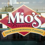 Photo taken at Mio's Pizzeria by Eric B. on 6/25/2012