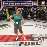 Photo taken at UFC Fan Expo by Christine L. on 7/6/2012
