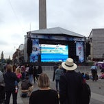 Photo taken at London 2012 OMEGA Countdown Clock by Katy on 9/2/2012