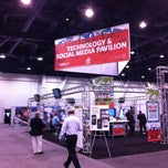 Photo taken at ICSC RECon by Brand M. on 5/21/2012