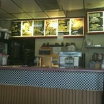 Photo taken at Lenny's Burger Shop by Arnold C. on 3/5/2012
