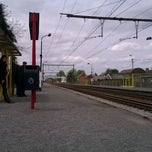 Photo taken at Station Maria-Aalter by Milan V. on 5/6/2012