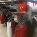 Photo taken at Ferrari Store by Walter G. on 6/23/2012