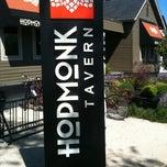 Photo taken at HopMonk Tavern by Eric M. on 4/22/2012