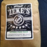 Photo taken at Zeke's Coffee (retail) by Tiffany H. on 8/22/2012