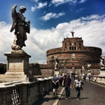 Photo taken at Ponte Sant'Angelo by Dmitry P. on 5/16/2012