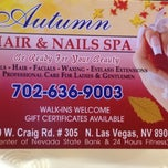 Photo taken at Autum Hair & Nails Spa by Kim M. on 5/19/2012