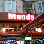 Photo taken at Moods by Devrim D. on 9/3/2012
