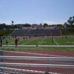 Photo taken at Redondo Union Football Stadium by Maria A. on 9/8/2012