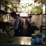 Photo taken at STANDING COFFEE by Ji Young K. on 3/1/2012
