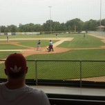 Photo taken at Sherman Baseball Stadium by Andy K. on 6/30/2012