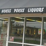 Photo taken at Hokus Pokus Liquors by Heidi G. on 3/12/2012