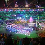 Photo taken at Olympic Stadium by Ashley N. on 9/9/2012