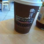 Photo taken at Bruegger's by Noah P. on 6/9/2012