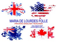 Cover Photo for Maria Folle's map collection, FLASH Englisg