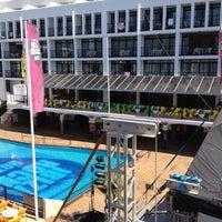 Photo taken at Ibiza Rocks Hotel by Renato T. on 6/16/2012