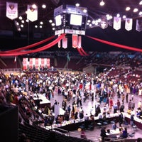 Photo taken at Pacific Coliseum by Nazir A. on 7/15/2012